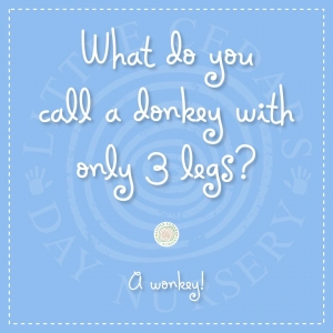 What do you call a donkey with only 3 legs?