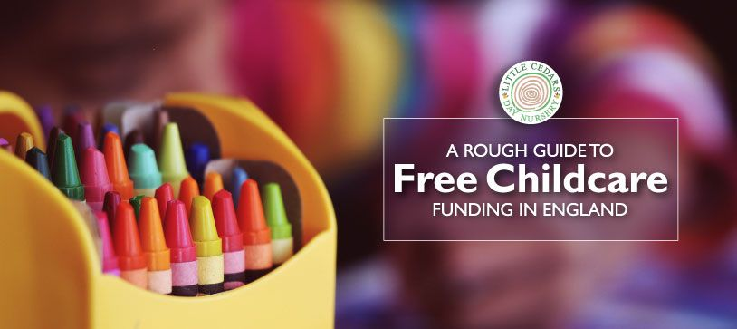 A rough guide to free childcare funding in England
