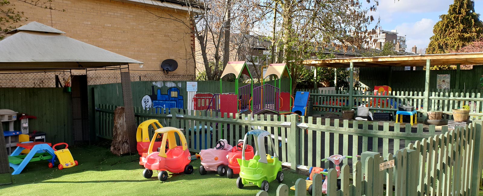 Our extensive outdoor areas are also incredibly well resourced and equipped.