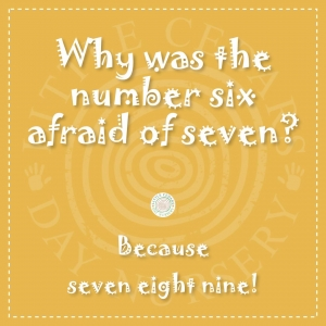 Why was the number 6 afraid of 7?