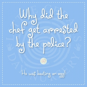 Why did the chef get arrested by the police?
