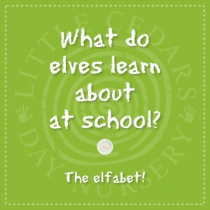 What do elves learn about at school?