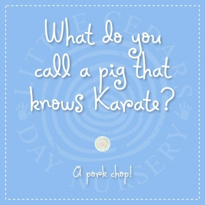 What do you call a pig that knows Karate?