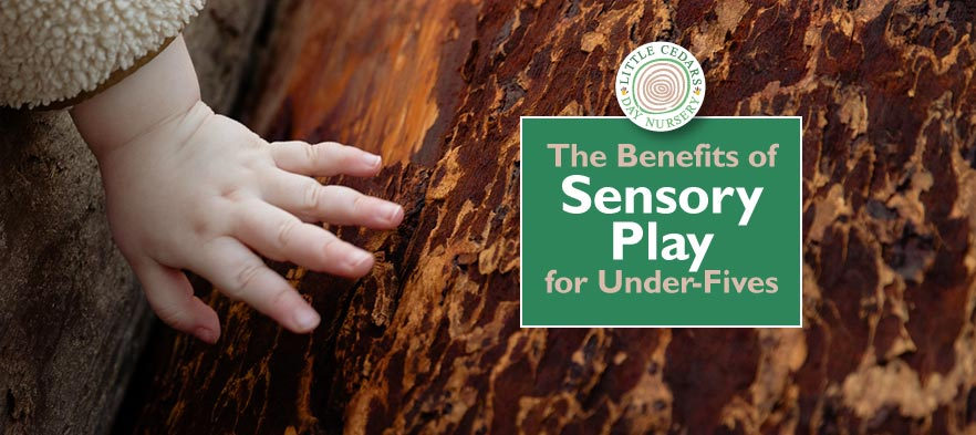 The benefits of sensory play for under-fives