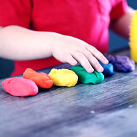There are many benefits of sensory play to babies, toddlers and young children