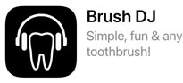 Brush DJ teeth brushing phone app