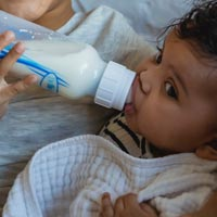 We're happy to feed infants breast or formula milk at Little Cedars Nursery in Streatham