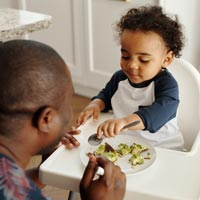 Weaning should be fun for the infant!