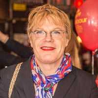 Eddie Izzard used to host a comedy club at the White Lion pub in Streatham