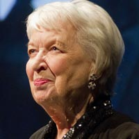 Actress June Whitfield was born in Streatham in 1925 and attended Streatham Hill High School