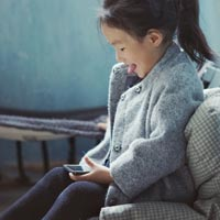Over 75% of under fives have access to a connected device