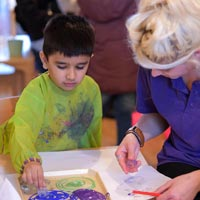 We understand the many benefits of messy play at Little Cedars Nursery